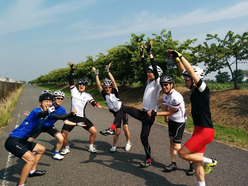金甲山(224W 4.0W/kg)とローテ練習とぶつかる練習