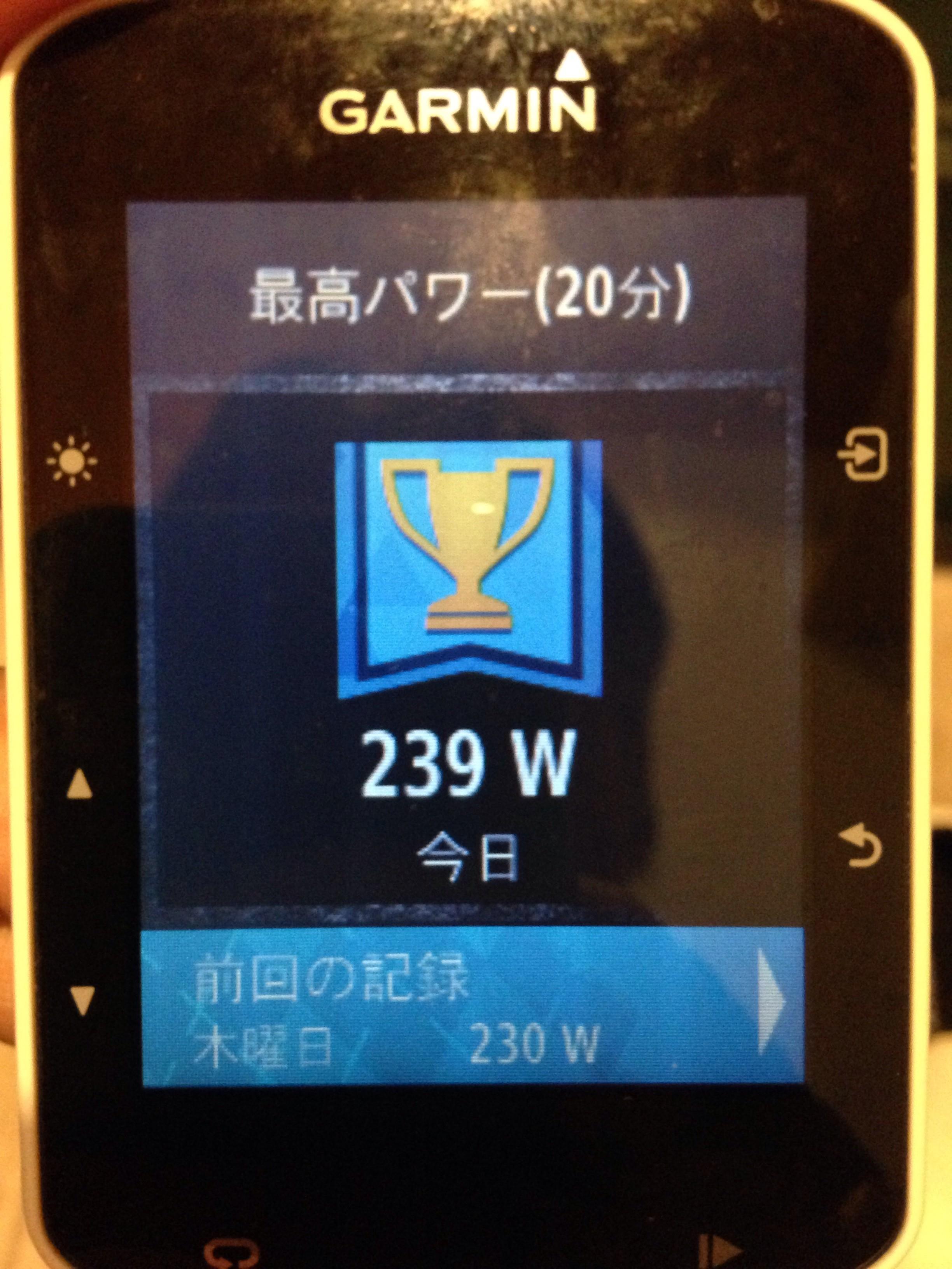 金甲山 DE LT走(233W 4.0W/kg)