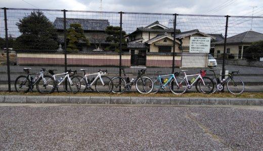 CTL100 チーム倉敷&ドM組合サイクリング。チャンプに引きずり回されちぎり捨てられる。