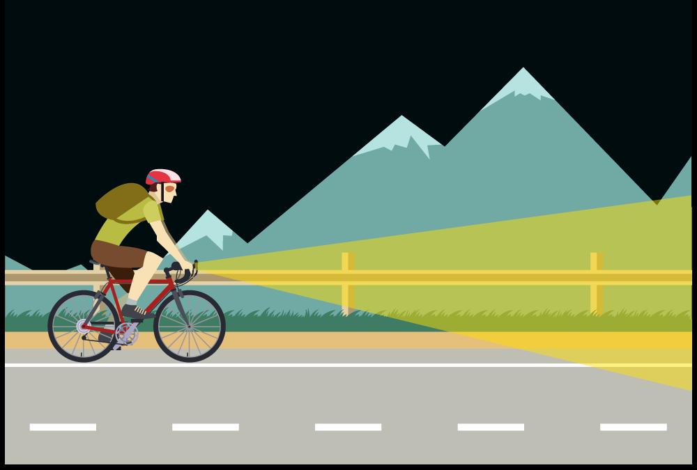 ロードバイクのライトの選び方と厳選おすすめライト。